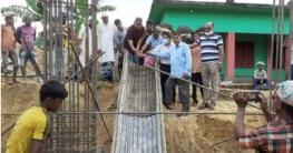 গোয়াইনঘাট ফতেপুর রামনগর বিদ্যালয় ভবনের কাজের উদ্বোধন